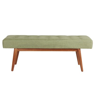 Strange Langley Street Sofia Upholstered Bench Color Green Inzonedesignstudio Interior Chair Design Inzonedesignstudiocom