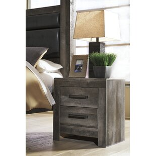 Price comparison Theiss 2 Drawer Nightstand by Gracie Oaks Reviews (2019) & Buyer's Guide