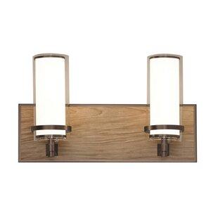 Union Rustic Makela 2-Light Vanity Light