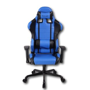 Read Reviews Cherita Racing Style High-Back Gaming Chair ByLatitude Run