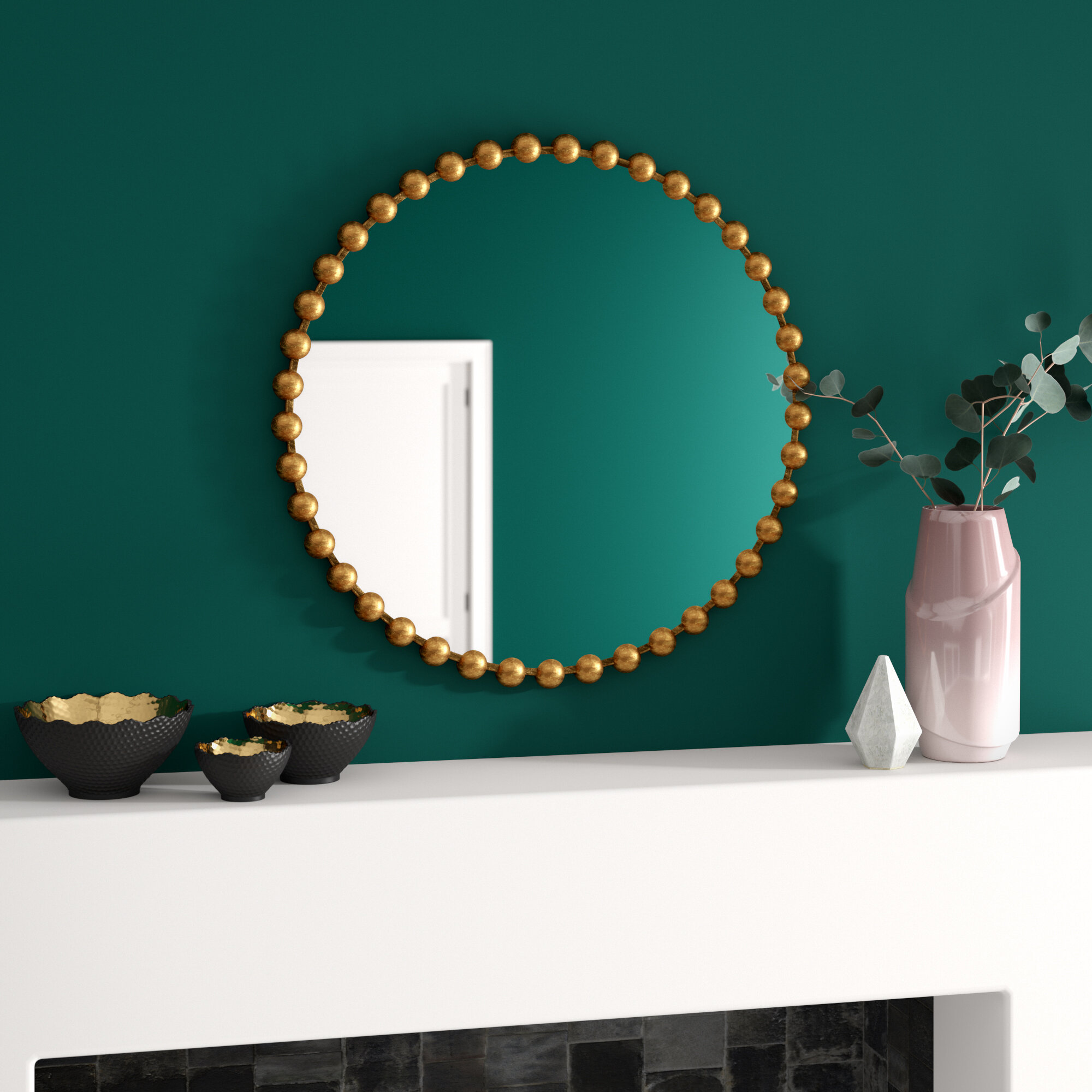 Madison Park Signature Marlowe Modern Accent Mirror Reviews Wayfair