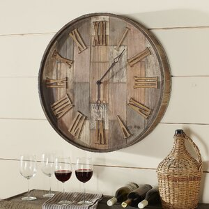 Malbec Wall Clock