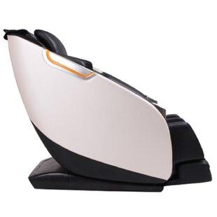 Ultimate Genuine Leather Reclining Adjustable Width Massage Chair By Brayden Studio