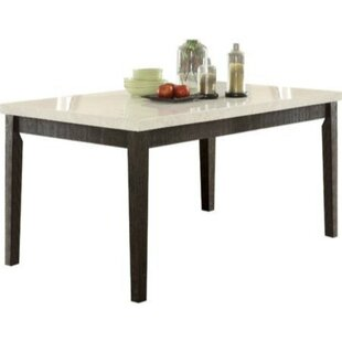 Basinger Solid Wood Dining Table Charlton Home