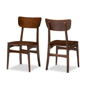 Seidl Scandinavian Dining Chair (Set of 2) Ivy Bronx