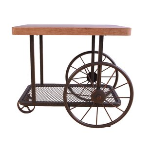 Saltsman End Table by Williston Forge