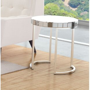 Reviews Tarik End Table by Orren Ellis