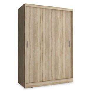 Mortenson 2 Door Sliding Wardrobe By Mercury Row