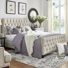 Allison King Upholstered Platform Bed by Three Posts