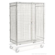 Wire Security Shelving Unit by Nexel