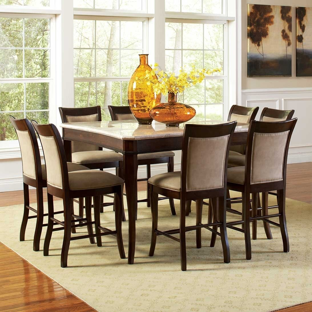 Darby Home Co Swenson Counter Height Dining Table & Reviews   Wayfair
