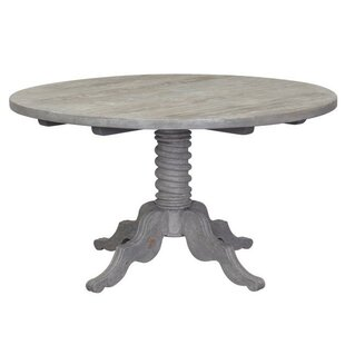 Vannatter Solid Wood Dining Table Ophelia & Co.