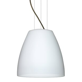 Bella 1-Light Cone Pendant by Besa Lighting