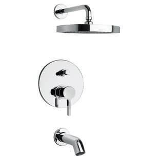 LaToscana Elix Tub and Shower Faucet with Valve