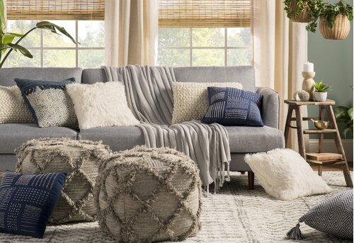 Blue Global Inspired Room Design Ideas Joss Main