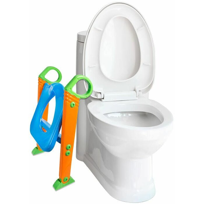 Excellent Kids Potty With Step Stool Ladder Elongated Toilet Seat Gamerscity Chair Design For Home Gamerscityorg