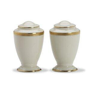 Tuxedo Salt And Pepper Shaker Set by Lenox