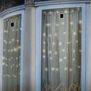 Drapelites 2.5 ft. 42-Light Curtain String Light by Touch of ECO