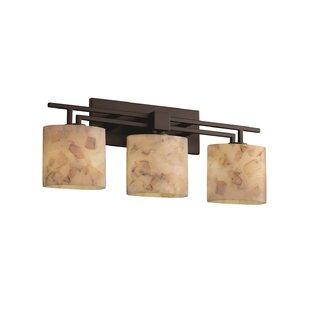 Best Price Salsbury 3 Light Bath Vanity Light By Rosecliff Heights