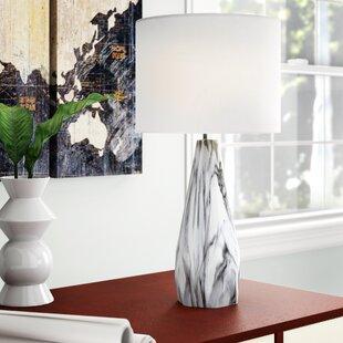Bruening Ceramic and Metal 25 Table Lamp