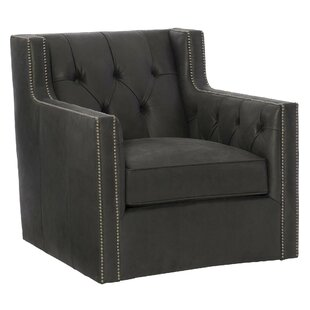 Bernhardt Candace Leather Club Chair