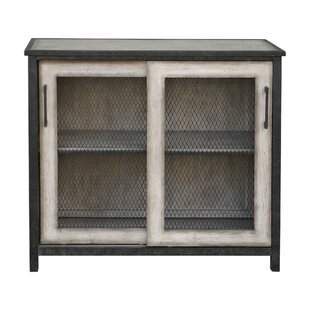 Maris Wire-Mesh 2 Door Accent Cabinet by Gracie Oaks