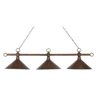 Morgan Heights 3-Light Pool Table Light by Loon Peak