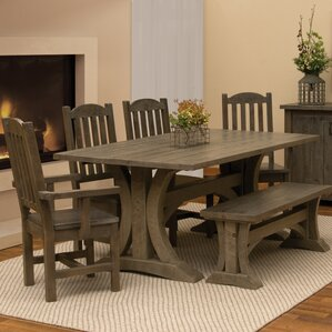 Frontier 6 Piece Dining Set by Fireside L..