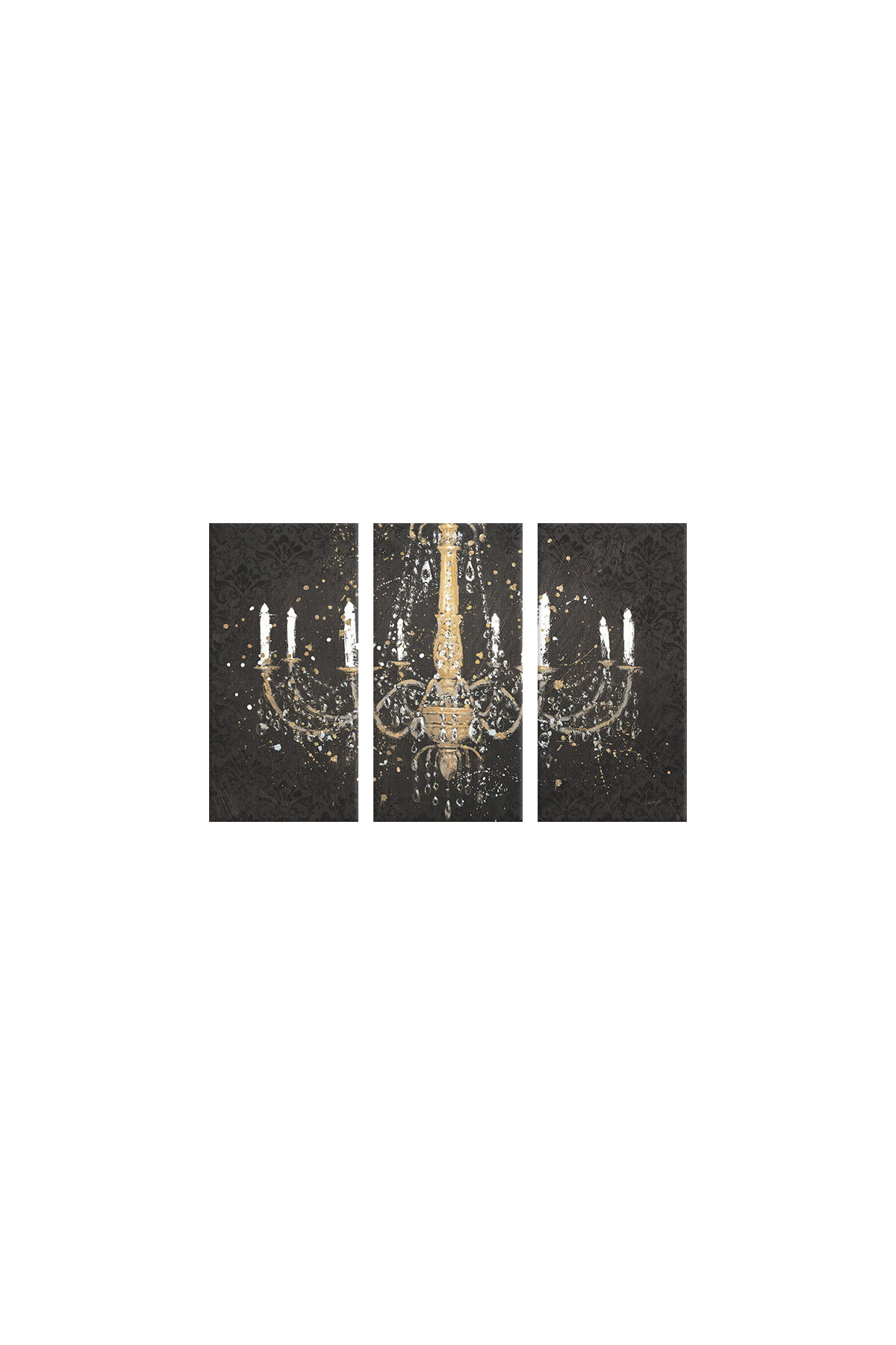 House of Hampton Grand Chandelier I Graphic Art Print Multi Piece