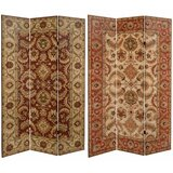 Wilkey 3 Panel Room Divider by World Menagerie