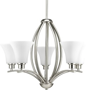 Jilliann 5-Light Shaded Chandelier by Red Barrel Studio