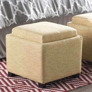 Compare & Buy Brandon Cube Ottoman ByWilla Arlo Interiors