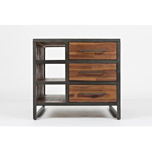 17 Stories Roxanne Transitional Wooden End Table
