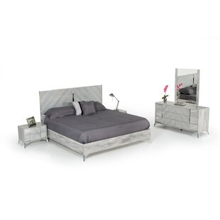 Labombard Modern 5 Piece Platform Bedroom Set