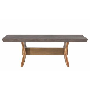 Brayden Studio Dusek Concrete Dining Table