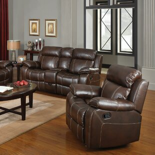 Chestnut Manual Glider Recliner by Darby Home Co