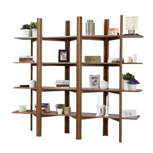 Battle Accordion Etagere Bookcase