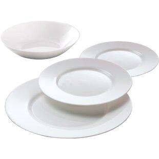 Everyday 12 Piece Dinnerware Set Service for 4  sc 1 st  Wayfair & Everyday Dishes Sets | Wayfair