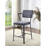 Parke Upholstered Bar Stool (Set of 2) by 17 Stories