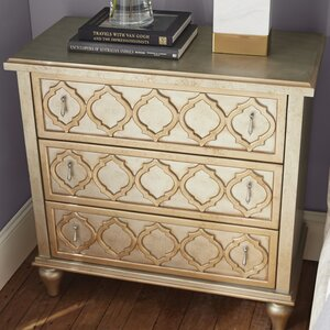 Chantel 3 Drawer Accent chest