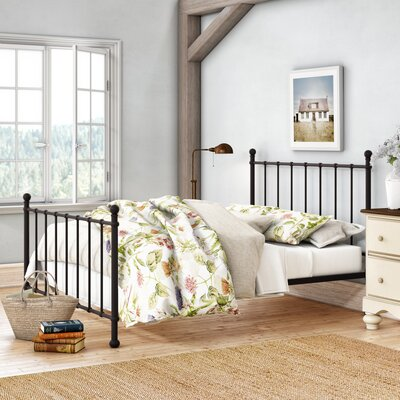 Eleanore Full/Double Platform Bed Color: Bronze by August Grove