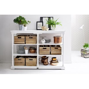 Ownby Kitchen Island with 6 Wood Crates by Gracie Oaks