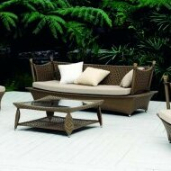 Zen Sofa with Cushions by 100 Essentials