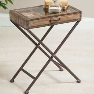 Circe Wood End Table