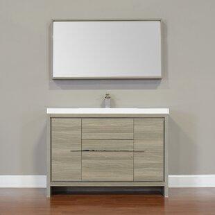 Forsan Modern 48 Single Bathroom Vanity Set by Ebern Designs