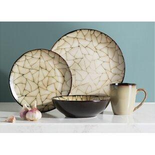 Wingate 16 Piece Dinnerware Set Service for 4  sc 1 st  Wayfair & Stoneware Dinnerware Sets You\u0027ll Love | Wayfair