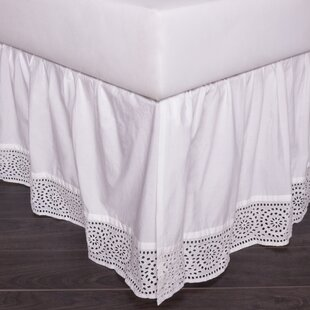 21 bed skirt inch drop eyelet 150 thread count 21 20