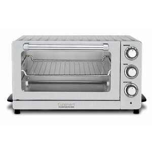 0.6 Cu. Ft. Toaster Oven Broiler with Convection