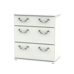 McCaysville 3 Drawer Chest By August Grove