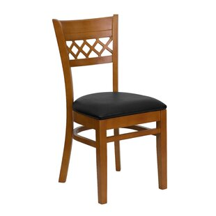 Read Reviews Escarcega Lattice Back Side Chair by Darby Home Co Reviews (2019) & Buyer's Guide
